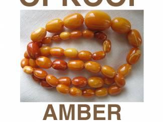 Gezocht: Inkoop, aankoop en opkoop van kettingen met amber