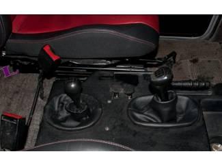 Mercedes G-kl. W460-W462 - Echt leder pookhoes