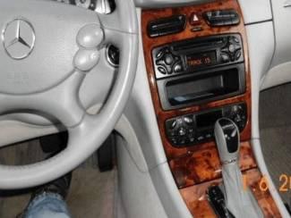 Mercedes W211 E-kl. Tiptronic - Echt leder pookhoes