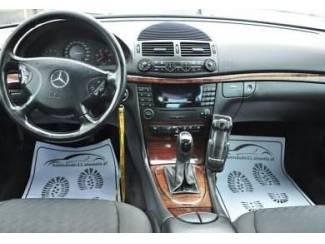 Mercedes  W211 E-kl. - Echt leder pookhoes