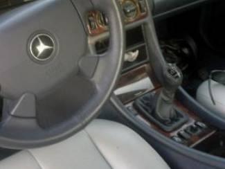 Mercedes CLK W208 - Echt leder pookhoes