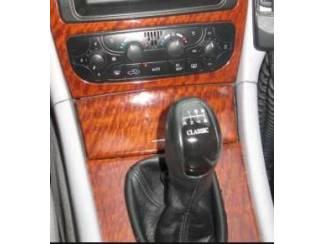 Mercedes-Benz onderdelen Leder pookhoes pookknophoes MERCEDES CLK W209