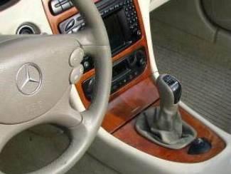 Mercedes-Benz onderdelen Leder pookhoes pookknophoes MERCEDES W203