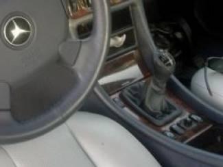 Mercedes-Benz onderdelen MERCEDES W202 W208 W210 - Echt Leder pookhoes-pookknophoes