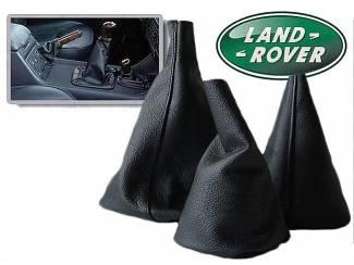Land Rover Discovery -Echt leder hoes voor de handrem