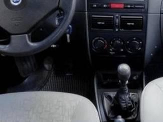 Fiat Albea - Echt leder pookhoes