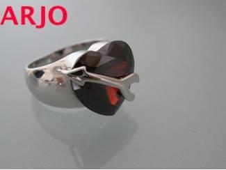 ring zilver, met edelsteen K1 -GEEN VERZENDKOSTEN.
