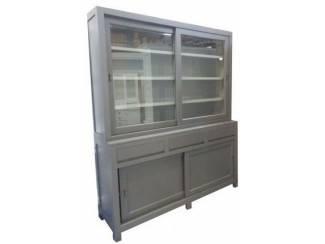Winkelkast antraciet - grijs 180 x 215cm greeploos