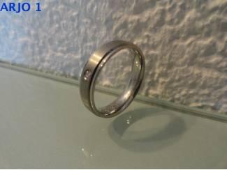 stainless-steel ring maat 21, Nr 11 -GEEN VERZENDKOSTEN.