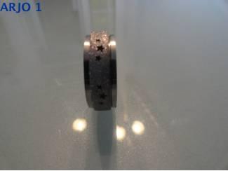 Rvs stainless steel rotatie ring, nr 51 GEEN VERZENDKOSTEN.