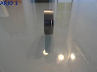 Ringen Stainless-Steel ring maat 22 Nr 69 -GEEN VERZENDKOSTEN.
