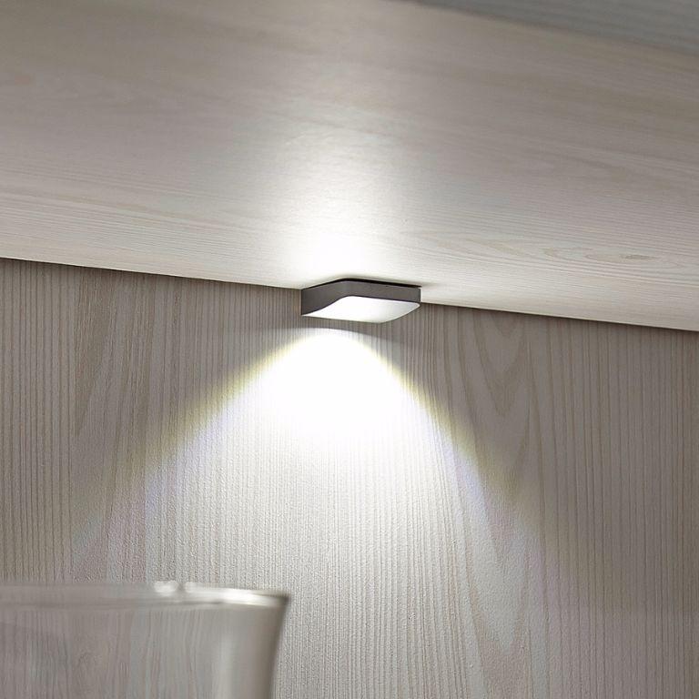 ACTIE Moderne brocante vitrine met LED verlichting NIEUW   Kasten en Dressoirs