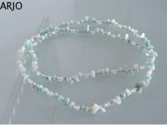 Ketting met bergkristal en Nr 293-GEEN VERZENDKOSTEN.