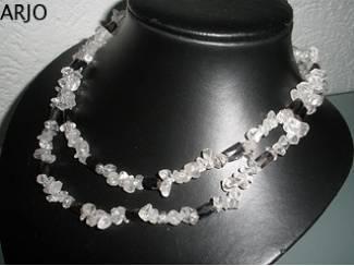 bergkristall HÄmatit edelsteen, Nr 211-GEEN VERZENDKOSTEN.