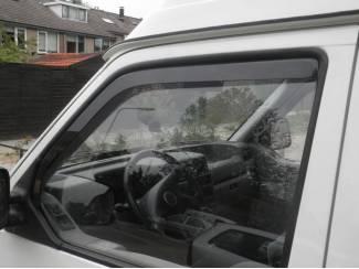 t4 volkswagen zijwindschermen camper raamspoilers getint Heko