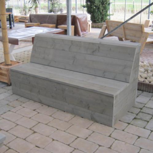 steigerhouten meubelen rustikal meubelen tuinmeubelen. Black Bedroom Furniture Sets. Home Design Ideas
