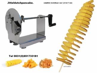 aardappelspiraal tornado potato cutter machine aardappel op stok