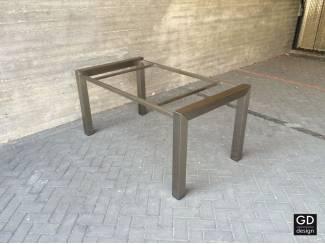 Rvs design eet- tafelpoten / onderstel / frame model MILANO