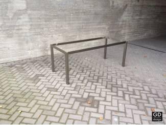 Rvs design tuin- tafelpoten / onderstel / frame model MONACO