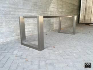 Tafels Rvs design eettafel- poten / onderstel / frame model VANNA