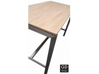 Tafels Rvs design bartafel- poten / onderstel / frame model BARCA met vo