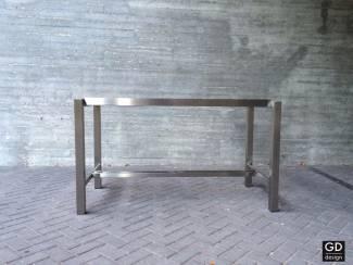 Tafels Rvs design bartafel- poten / onderstel / frame model BARCA met du