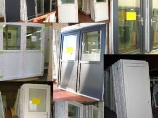 Kozijnen en Schuifpuien stockverkoop,schuiframen, ramen,deuren,dubbeldeuren,kozijn,schuif