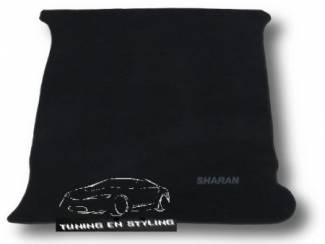 Kofferbakmat Velours Volkswagen met logo Sharan I
