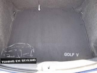 Volkswagen onderdelen Kofferbakmat Velours Volkswagen Golf 5