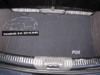 Volkswagen onderdelen Kofferbakmat Velours Volkswagen met logo Fox