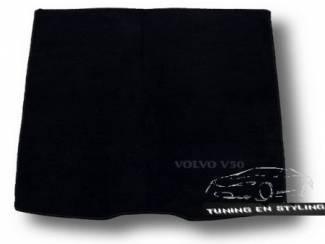 Kofferbakmat Velours met logo Volvo V50