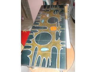 salontafel tegels rond vorm