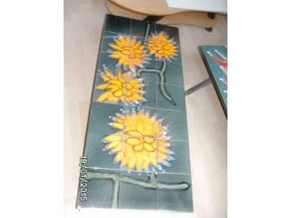 salontafel geel bloem
