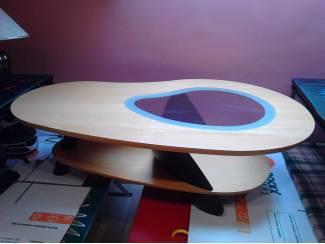 retro salontafel hout