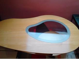 Tafels retro salontafel hout