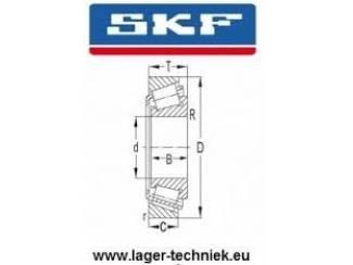 SKF 32008-X/Q Kegellager Scherpe prijs