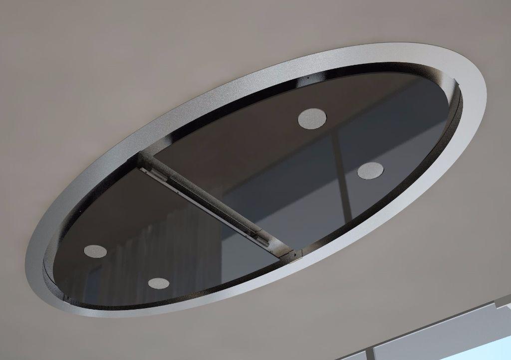 Badkamer Plafond Afzuiging : Afzuiging badkamer plafond trendy inch plafond pijp ventilator