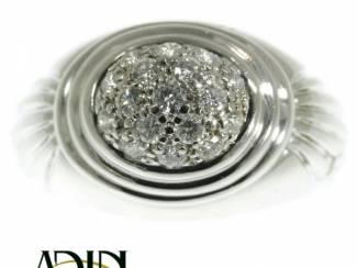 Boucheron ring in wit goud omringd met diamanten