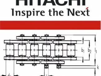 200 Meter Hitachi 12B-1 Rollenketting
