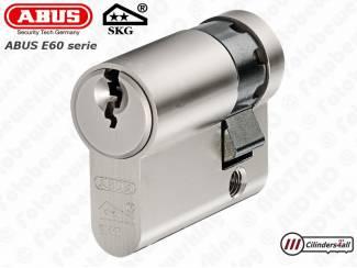 ABUS E60 Halve-Cilindersloten SKG** - 10-30mm t/m 10-50mm