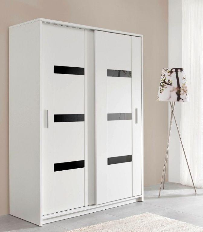 Actie witte kledingkast presto 140 of 204 cm vanaf 269 nieuw kasten en dressoirs - Kledingkast en dressoir ...