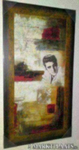 Schilderij elvis presley abstract accessoires en decoratie - Decoratie schilderij gang ...
