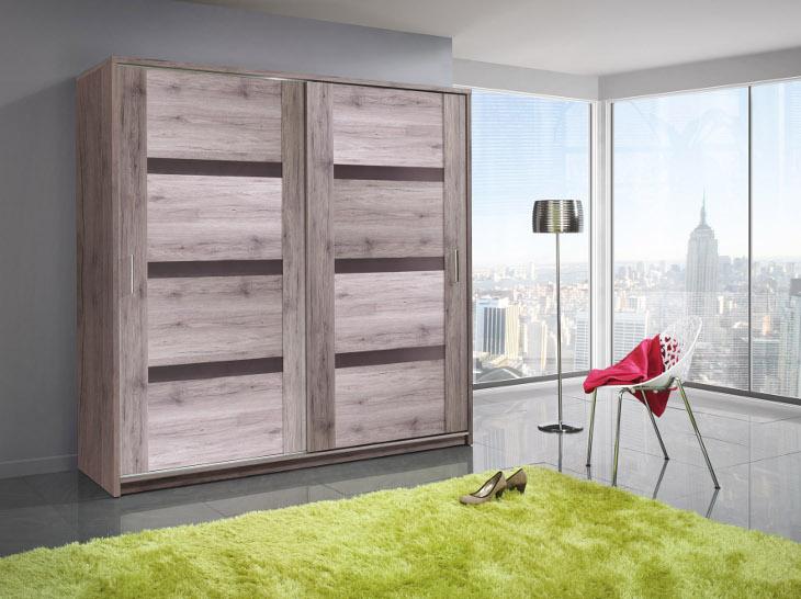 Actie moderne robuuste kledingkast 140 of 204 cm vanaf 279 nieuw kasten en dressoirs - Kledingkast en dressoir ...
