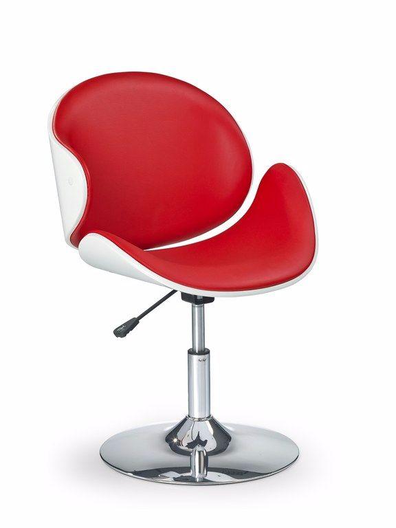 Aanbieding moderne hoogglans witte rode design fauteuil for Witte moderne stoelen