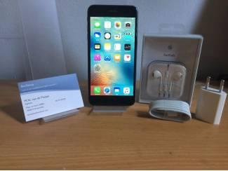 INCL. 21% BTW! Apple iPhone 6 Plus 64GB Zwart - ZGAN!