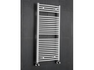 Sanifun handdoek radiator Medina Gebogen 116 x 75 Wit.