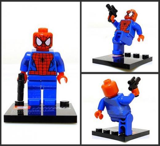 8 super heroes batman superman ironman spiderman hulk geen - Spiderman batman lego ...