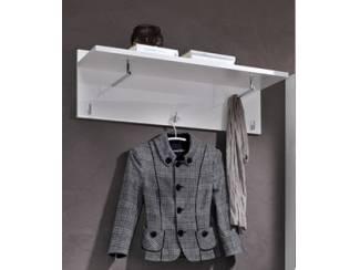 VOORRAAD Moderne hoogglans witte kapstok Luxury NU 79,- NIEUW