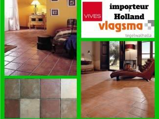 Terracotta tegels Vives Plavuizen Direct Online Kopen Vlagsma