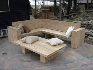 Loungebanken van Steigerhout, Douglashout, Damwandhout!